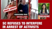 House arrest of activists to continue for four more weeks, says Supreme Court
