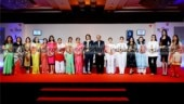 Rajasthan CM Vasundhara Raje felicitates women achievers at India Today Woman Summit