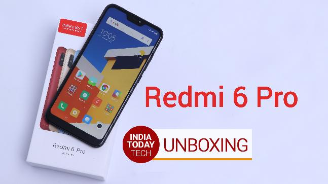 Redmi 6 Pro unboxing and quick review