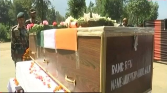 Soldier on leave killed by terrorists in J&K's Kulgam