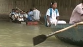 These Delhi students take boat rides to school every day