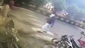 Caught on CCTV: Miscreants vandalise street food stalls in Gujarat