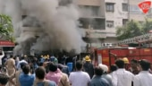 Major fire breaks out in residential building in Ahmedabad