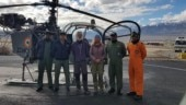 IAF rescues German couple