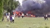 IAF's MiG 27 fighter aircraft crashes in Jodhpur