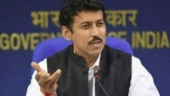 File photo of Rajyavardhan Singh Rathore