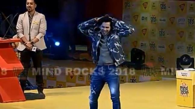 Watch: Varun Dhawan sets the stage on fire with Badhiya Hai from Sui Dhaaga