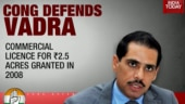 Congress defends Robert Vadra