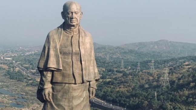 Head to toe look at the Statue of Unity