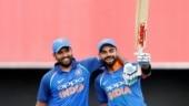 Virat Kohli, Rohit Sharma battle for top spot in ICC ODI rankings for batsmen