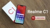 Realme C1 unboxing and quick review