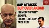 Opposition attacks PM Modi over MJ Akbar accusations