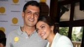 Deepika Padukone with her father Prakash Padukone