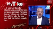 Rajdeep Sardesai on violence against farmers