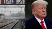 Watch| Passengers want Trump's help to make trains stop. In India