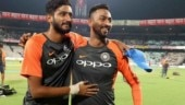 Krunal Pandya and Khaleel Ahmed became India's 77th and 78th players respectively