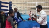 MC Mary Kom enjoyed a friendly bout with Minister of Youth Affairs and Sports Minister Rajyavardhan Singh Rathore