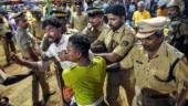 Sabarimala row: 82 people, including BJP leader arrested