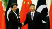 Imran Khan with Xi Jinping