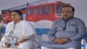 Mamata with Kolkata Mayor Sovan Chatterjee