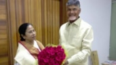 Mamata Banerjee with Chandrababu Naidu