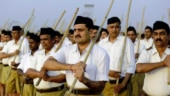File photo of RSS workers