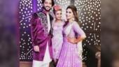 Kunal Jaisingh and Bharti Kumari dance at their sangeet ceremony. Watch video