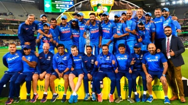 MS Dhoni gives India their first-ever bilateral ODI series triumph in  Australia