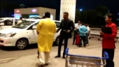 Hardik Pandya was spotted at the Mumbai airport late on Friday