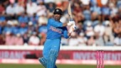 MS Dhoni's 54-ball 55 helped India level the three-match ODI series against Australia in Adelaide on Tuesday (Reuters Photo)