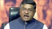 File photo of Ravi Shankar Prasad