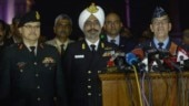 Full tri-service press conference: Pakistan jets intercepted Indian skies
