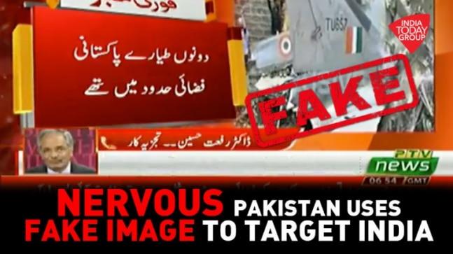 Watch| Pakistan media peddling FAKE NEWS of IAF jet crash