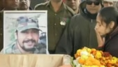 Watch| Wife of Pulwama martyr says I love you for the last time