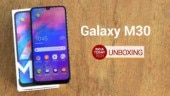 Galaxy M30 Unboxing and First Look: What's Better than M20?