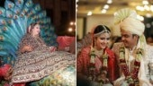 Telly town weddings: Inside videos from actress Palak Jain, Surbhi Tiwari's big fat weddings