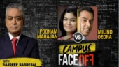 Campus Face-off: Milind Deora vs Poonam Mahajan on how to tackle terror threat