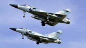 Indian Air Force Mirage 2000 fighters.