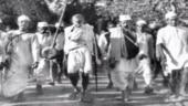 File photo of Mahatma Gandhi and others