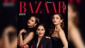 Sonakshi Sinha, Alia Bhatt and Madhuri Dixit for Harper's Bazaar India