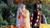 PM Modi in Varanasi.