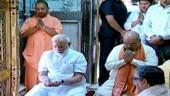 PM Modi reaches Varanasi, offers prayers in Kashi Vishwanath temple