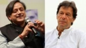 Shashi Tharoor and Imran Khan