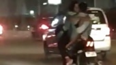 Couple goes high on PDA on a bike on Delhi roads. Watch video