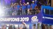 Mumbai Indians celebrate IPL 2019 win in style with open-bus parade