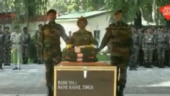 Army pays tribute to Major Rahul Singh deployed along LOC