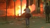 Violence at Amit Shah's Kolkata rally, fire set outside college