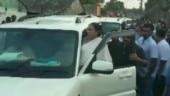 Mamata Banerjee loses cool, threatens men chanting Jai Shri Ram   WATCH