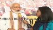 Watch: PM Modi lauds India Today journalist for showing courage