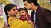 Yeh Rishta Kya Kehlata Hai: Naira, Kartik bond with Krish at his Annaprashan ceremony